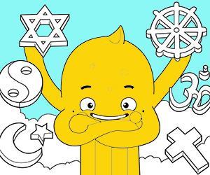 Disegni Religione da colorare