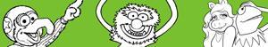 Disegni Muppets da colorare