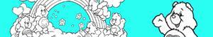 Disegni Orsetti del cuore da colorare