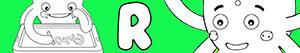 Disegni Nomi di Bambino con R da colorare