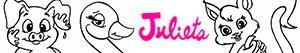 Disegni Gli animali di Julieta da colorare