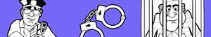 Disegni Crimine e Giustizia da colorare